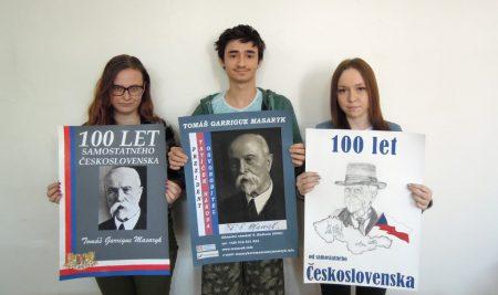 100. výročí založení ČSR na plakátu